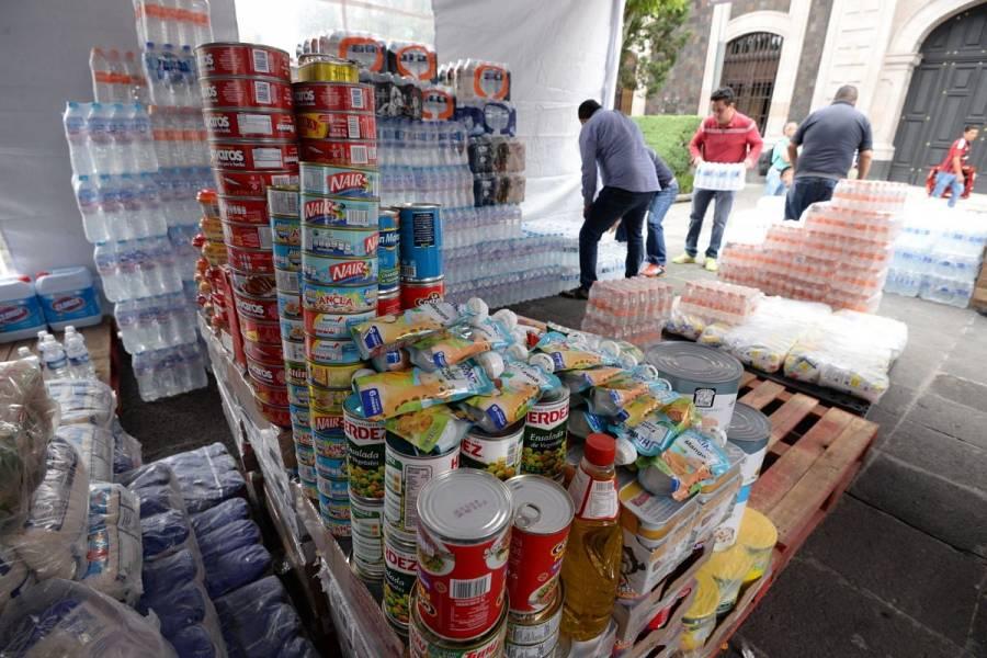 INAI habilita centro de acopio para damnificados de Chiapas y Tabasco