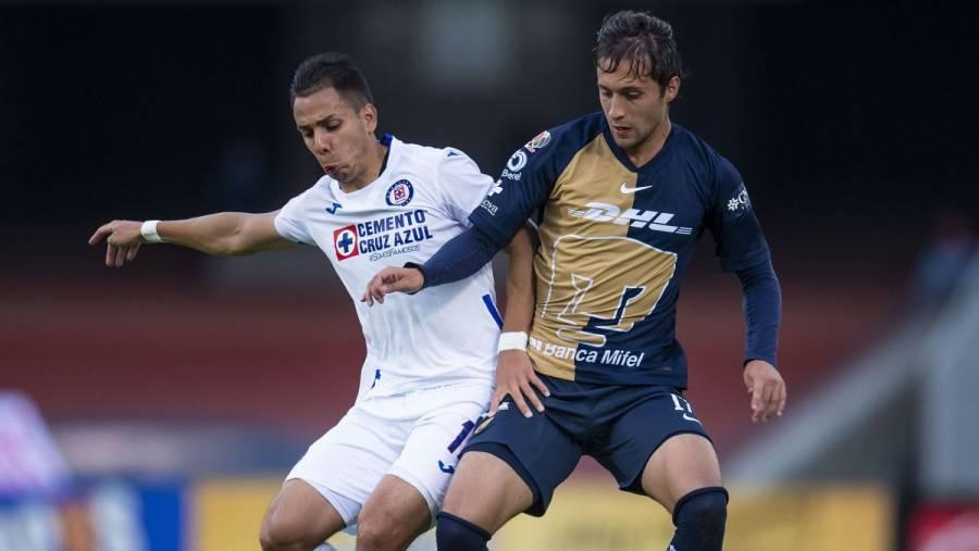 Pumas remonta ante Cruz Azul y ambos sellan su clasificación a la liguilla