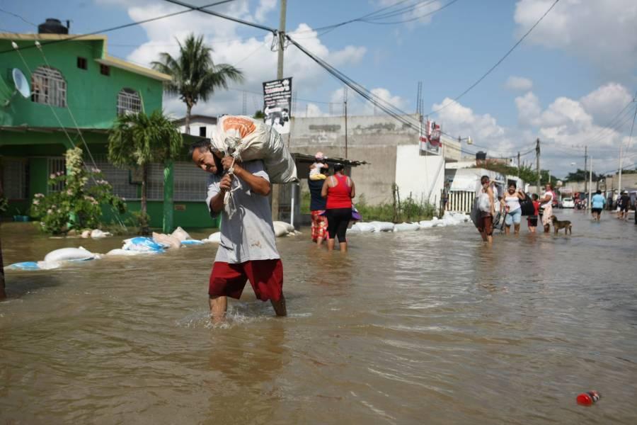 25 PERSONAS FALLECIDAS EN TABASCO Y CHIAPAS