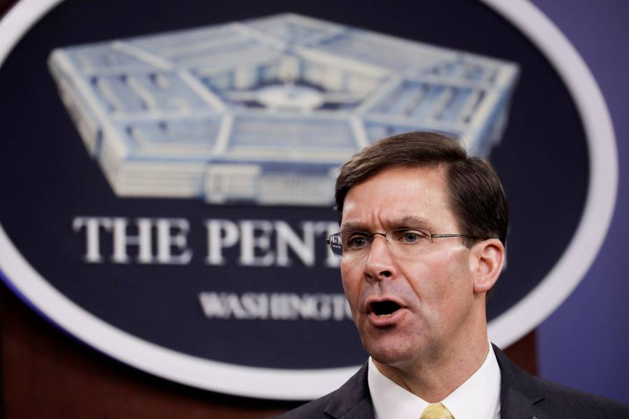 Trump despide al secretario de Defensa, Mark Esper