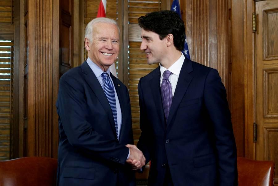Trudeau, primer mandatario en conversar con Joe Biden