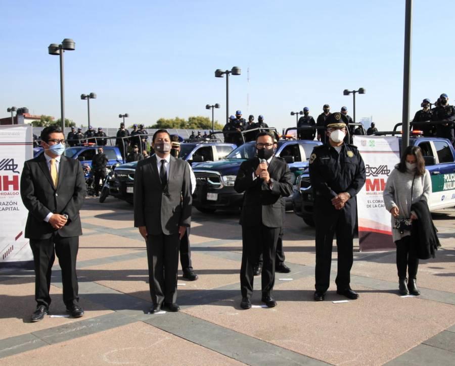 #YoTeCuidoEnElBuenFin: Miguel Hidalgo realiza operativo de seguridad