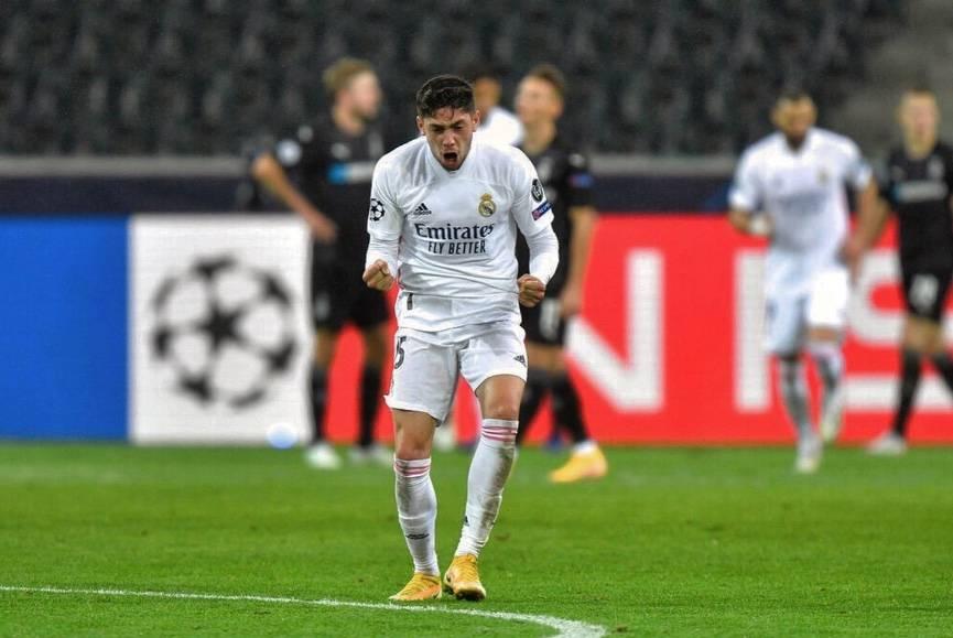 Fede Valverde se lesiona y es baja por un mes con el Real Madrid