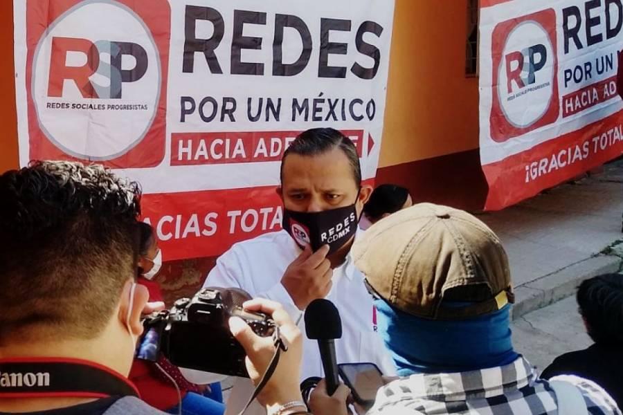 Pedro Pablo de Antuñano asume dirigencia de RSP en CDMX