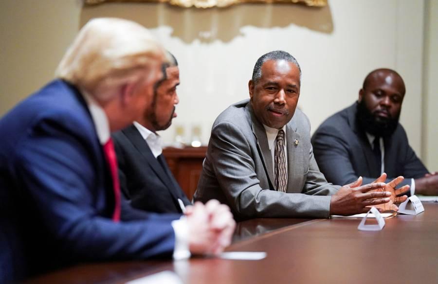 Ben Carson, secretario de Vivienda de EEUU, dio positivo a Covid-19