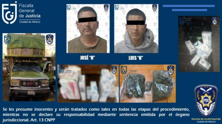 Localizan medicamentos oncológicos robados en tianguis de Iztapalapa