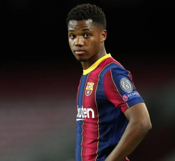 Ansu Fati causa baja con el Barcelona por cuatro meses