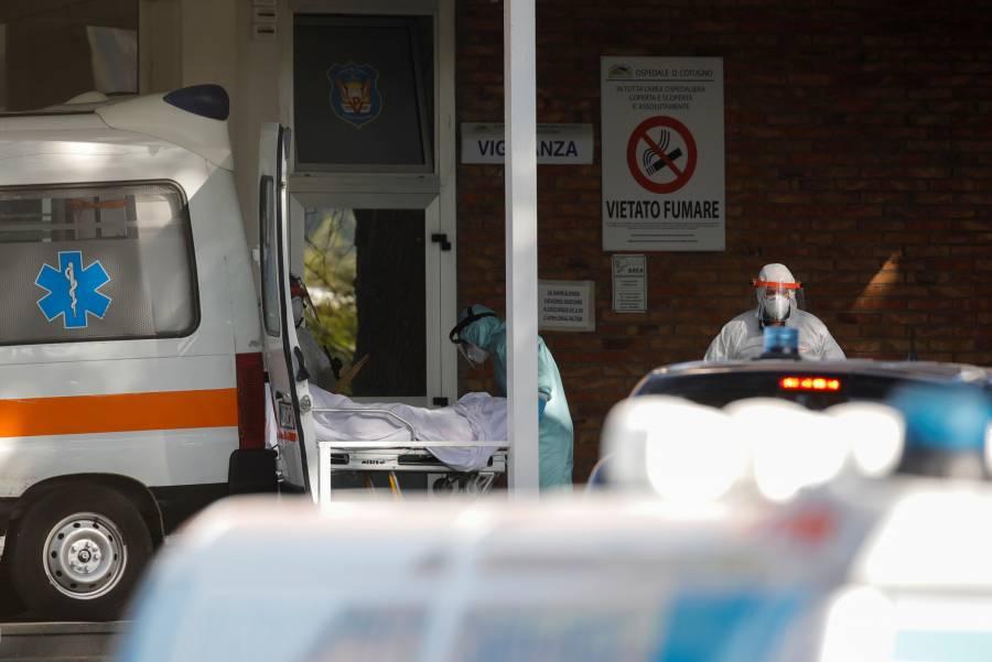 Italia reporta más de 35 mil nuevos casos de COVID-19 en 24 horas