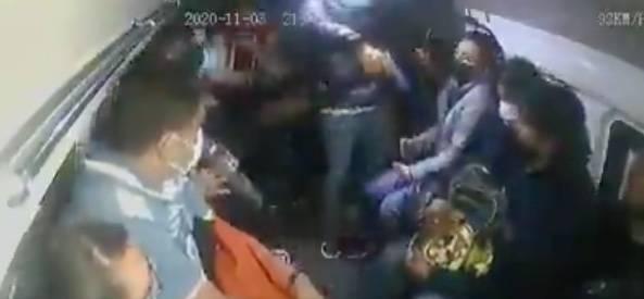 VIDEO: Así fue el asalto a pasajeros de combi en la México-Puebla