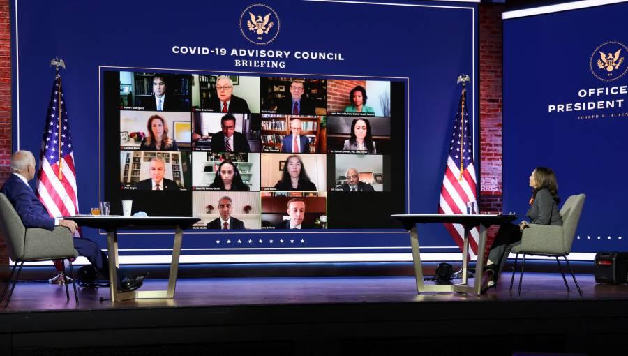 Designa Joe Biden equipo  científico contra el Covid
