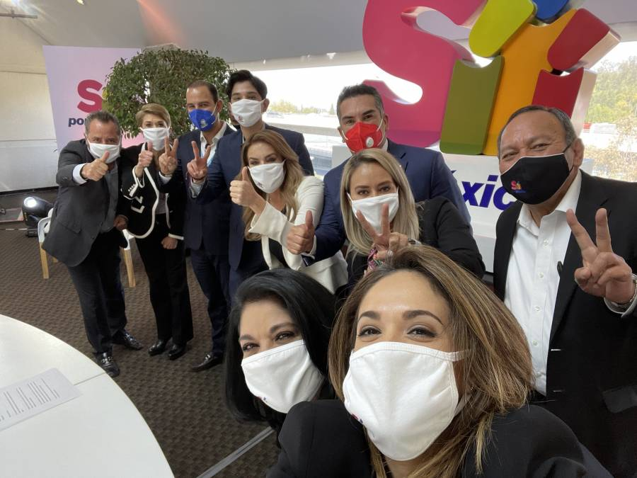 Sí por México construye alianza con partidos de oposición
