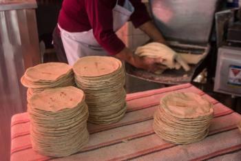 Precio de la tortilla aumentará en todo el país a partir de diciembre