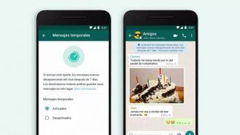 WhatsApp ofrece mensajes temporales con su nueva actualización