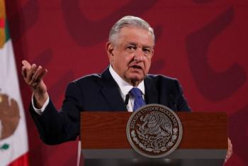 AMLO pide investigar dispersión de marcha en Quintana Roo