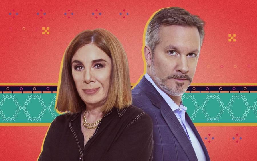 """Sabina Berman acusa de """"machismo"""" a John Ackerman durante programa en vivo"""