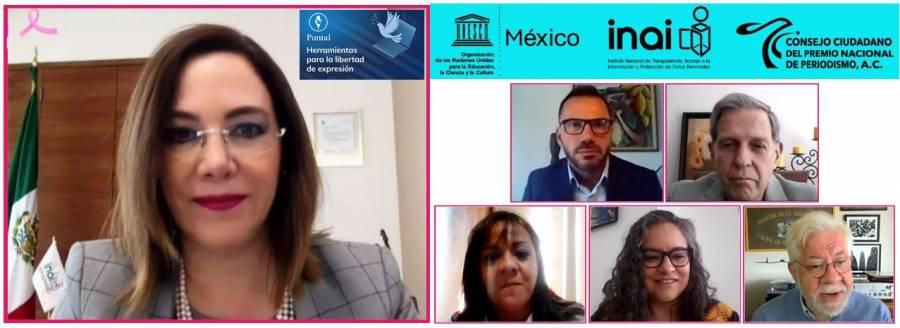 INAI presenta plataforma de protección para periodistas en situación de riesgo