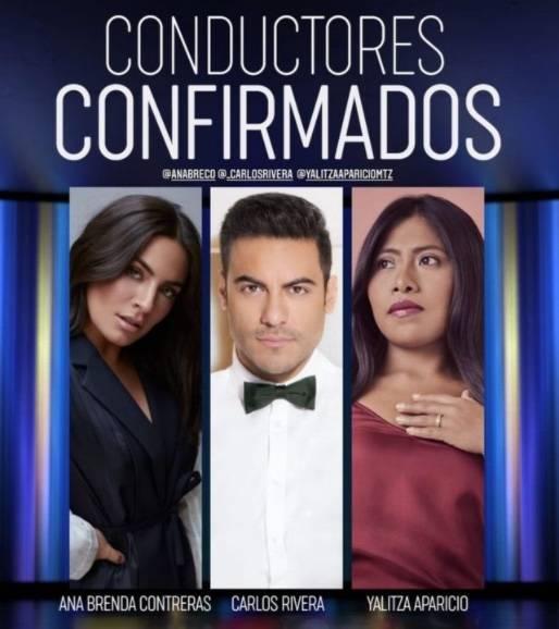 Yalitza Aparicio conducirá los Latin Grammy junto a Carlos Rivera y Ana Brenda Contreras
