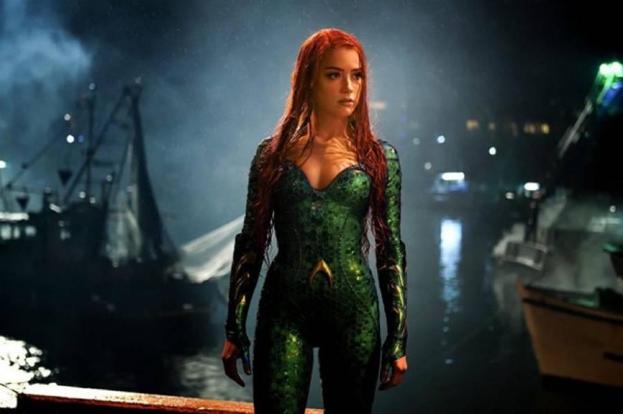 Amber Heard sigue en Aquaman 2, pese a peticiones de fans de Johnny Depp