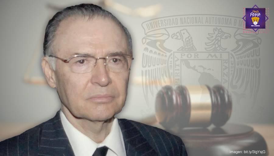Preserva la UNAM el pensamiento de Jorge Carpizo con cátedra extraordinaria que lleva su nombre