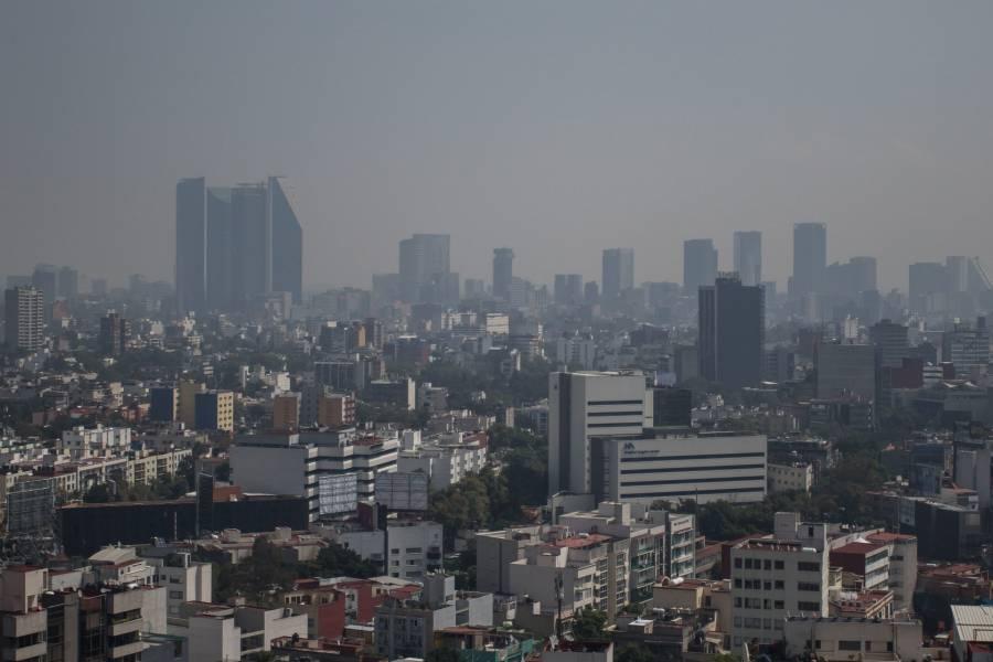 Se registran altos niveles de Ozono