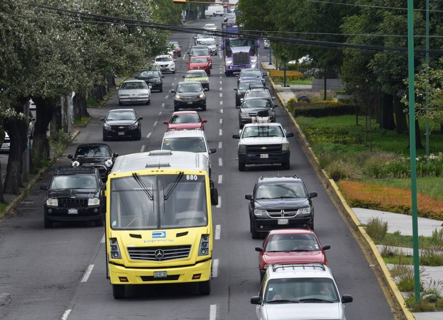 """Valle de México aplica """"Doble Hoy No Circula"""" por mala calidad del aire"""