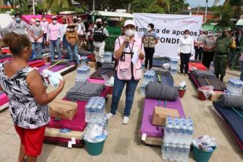 Aplican Fonden en 19 municipios chiapanecos