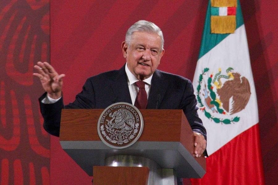 """""""Nuestro gobierno no está presentando denuncias contra ex presidentes"""", afirma AMLO"""