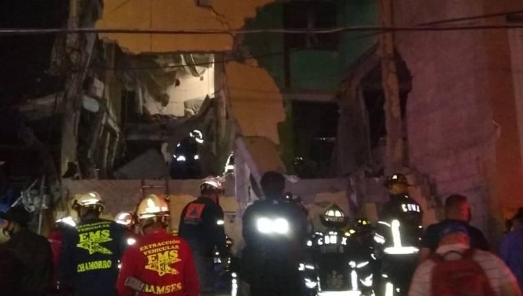 Asciende a 25 el número de heridos por explosión en vivienda de la Morelos