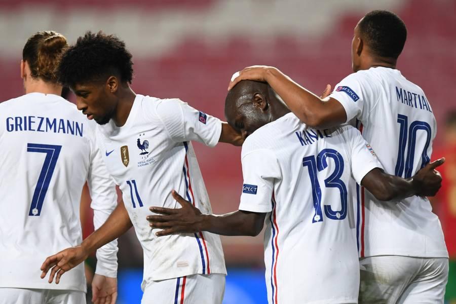 Resultados de la Liga de Naciones, Francia y Alemania ganan, España empata con Suiza