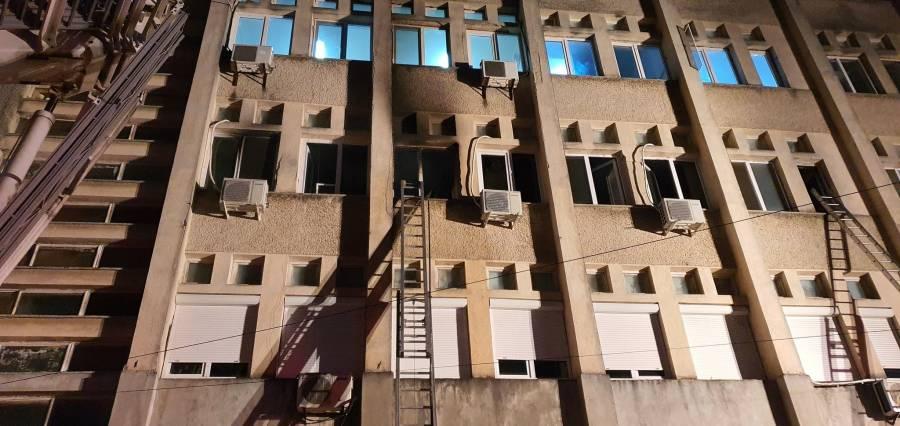 Al menos diez personas muertas tras incendio en un hospital Covid-19 en Rumania
