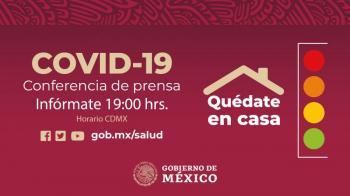 México supera el millón de casos confirmados de Covid-19 y 98 mil 259 fallecidos