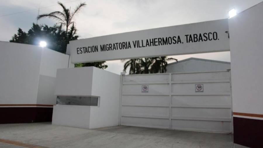 Estación migratoria en Tabasco funcionará temporalmente como albergue