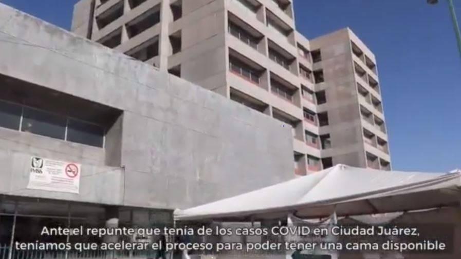 IMSS y la reconversión hospitalaria en Ciudad Juárez, Chihuahua