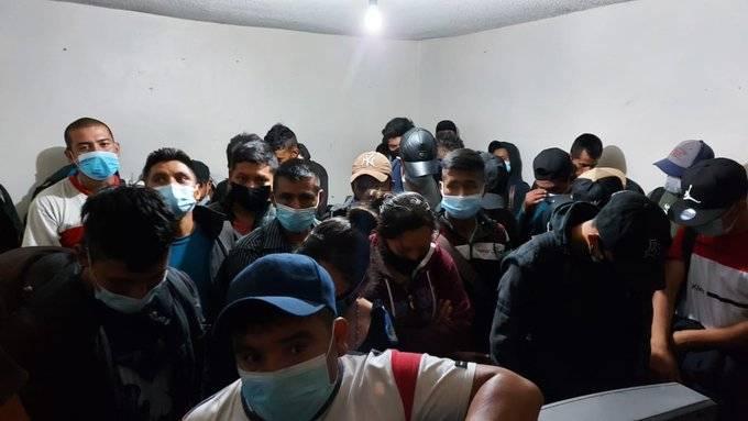 44 migrantes fueron rescatados en Ecatepec