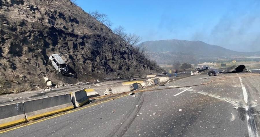 Confirma Fiscalía 13 personas fallecidas en explosión de pipa