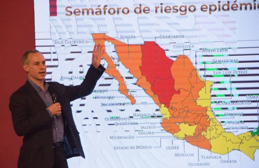 En México van 98 mil 542  muertes por Covid-19