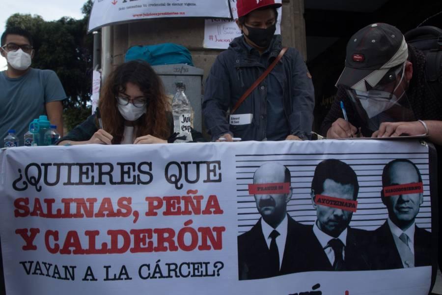 Con más de 5 mil firmas de fallecidos, se mantiene segunda consulta contra expresidentes