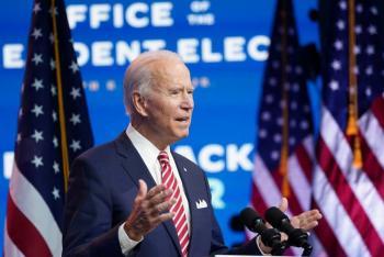 """Joe Biden: por no cooperar con Donald Trump, """"morirá más gente"""" de Covid-19"""