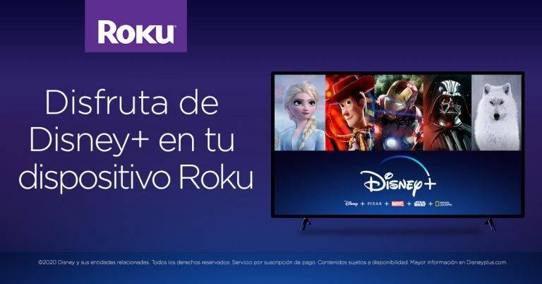 Disney Plus también llega a la plataforma Roku en Latinoamérica