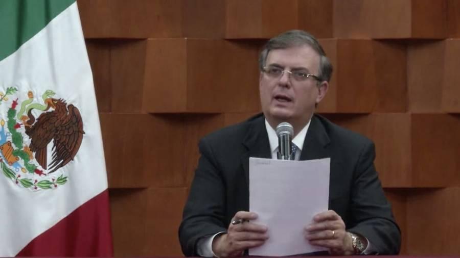 Reconoce Gobierno de México acto de respeto a la soberanía en caso del general Cienfuegos: MEC