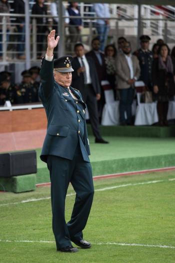Sirvió más de 50 años al Ejército, él es Salvador Cienfuegos