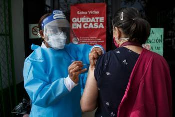 Vacunación de influenza lleva el 40 por ciento de avance