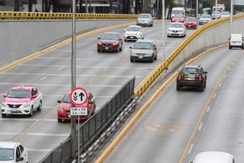 Carriles reversibles en Circuito Interior operarán a partir del 23 de noviembre