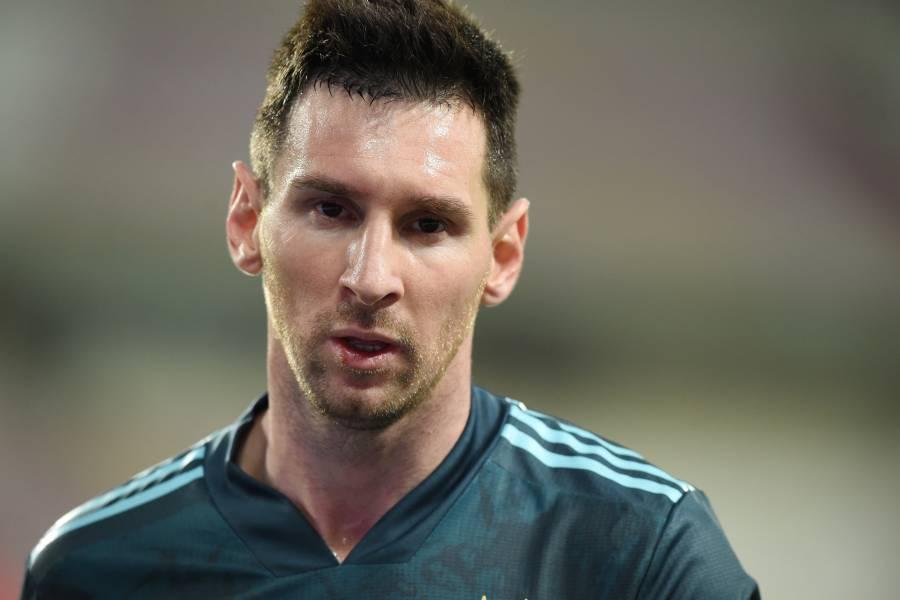 Estoy cansado de ser el problema de todo, Messi explota tras palabras del tío de Griezmann