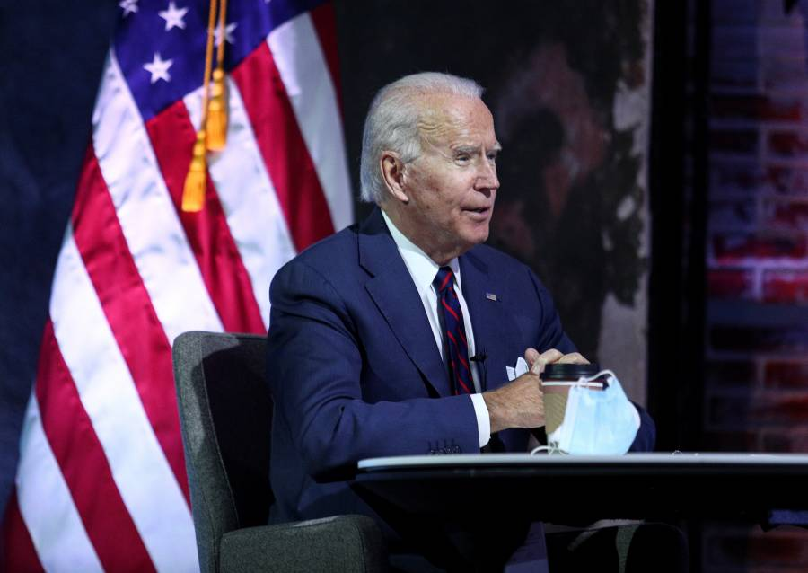 Biden espera avances de apoyo fiscal por el COVID-19, tras salida de Trump