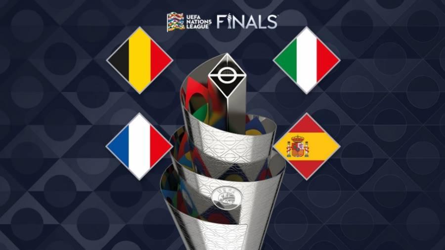 Italia, Bélgica, Francia y España, clasifican a la Final Four en la Nations League