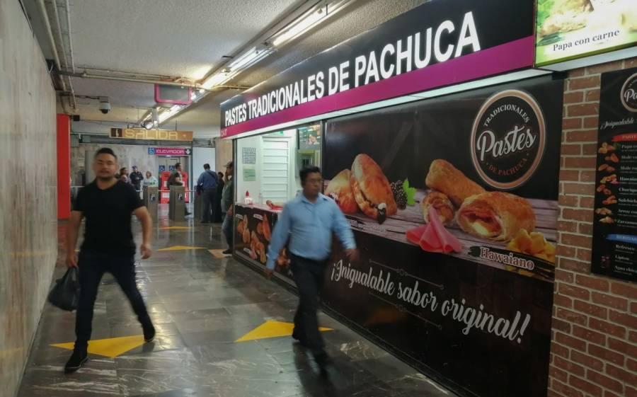 Locales al interior del Metro regresan a las actividades