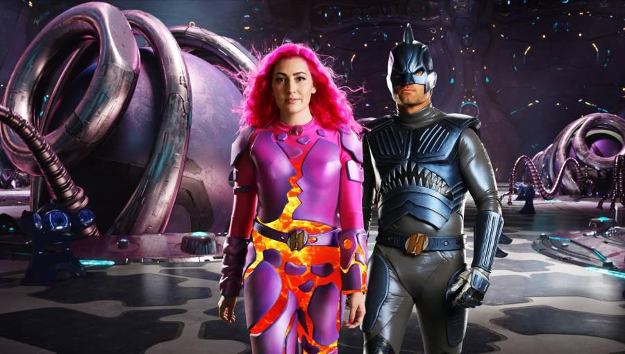 Netflix revela las primeras imágenes del regreso de Sharkboy y Lavagirl