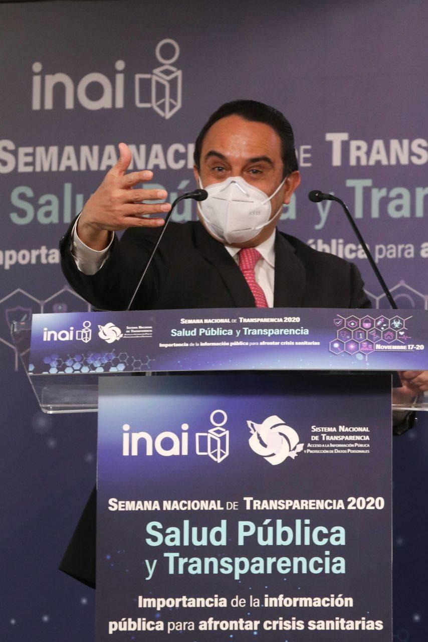 INAI exhorta a decir la verdad sobre pandemia