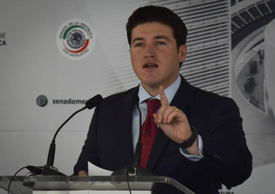 Senado otorga licencia a Samuel García para buscar gubernatura de NL